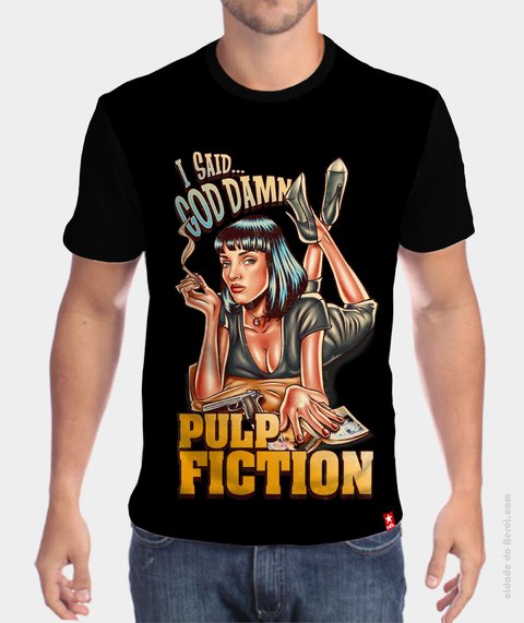 Camiseta Mia Wallace - Pulp Fiction - comprar online