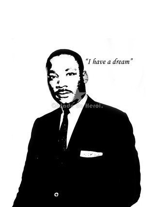 Camiseta Martin Luther King