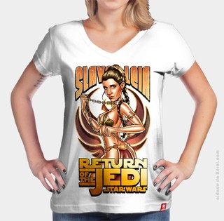 Camiseta Princesa Leia - Star Wars na internet