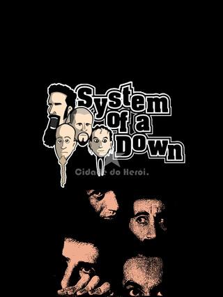 Camiseta Banda - System of a Down na internet