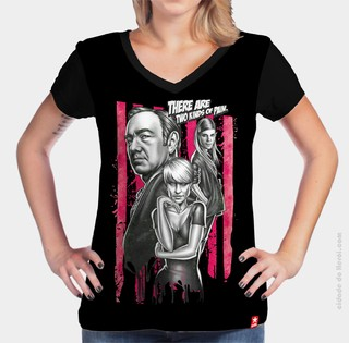 Camiseta Caos House Of Cards na internet