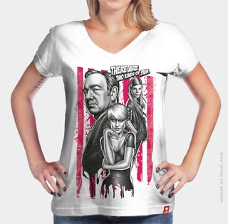 Camiseta Caos House Of Cards - Cidade do Herói
