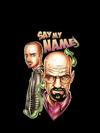 Camiseta Walter White and Jesse Pinkman - Breaking Bad na internet