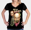 Camiseta Walter White and Jesse Pinkman - Breaking Bad - Cidade do Herói