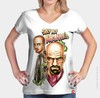 Camiseta Walter White and Jesse Pinkman - Breaking Bad - loja online