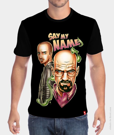 Camiseta Walter White and Jesse Pinkman - Breaking Bad - comprar online