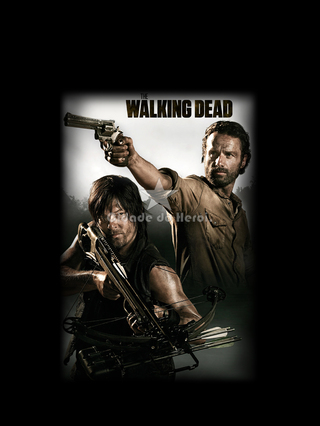 Camiseta A Dupla - The Walking Dead - comprar online