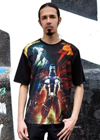 Camiseta O Soldado do Inferno - Spawn