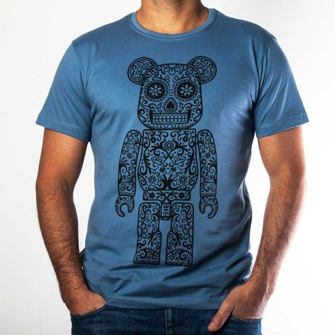 Camiseta Mexican Toy Art Azul - Hardivision
