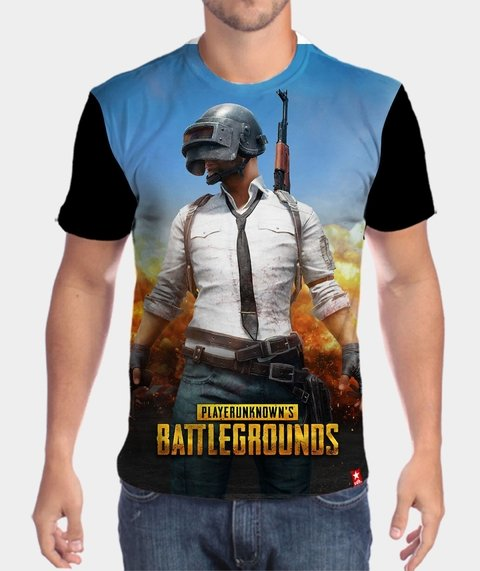 Camiseta Sobrevivente  - Playerunknown's Battlegrounds