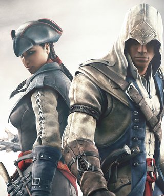 Camiseta Assassin's Aveline e Connor na internet