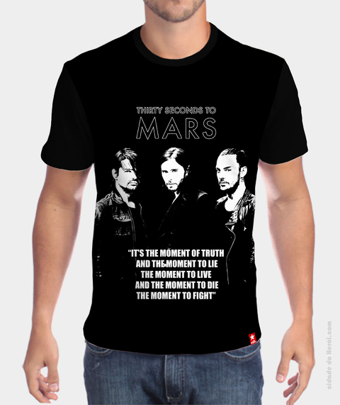 Camiseta 30 Seconds To Mars