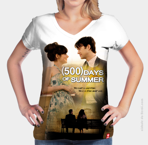 Camiseta This is not a love Story - 500 Dias com Ela
