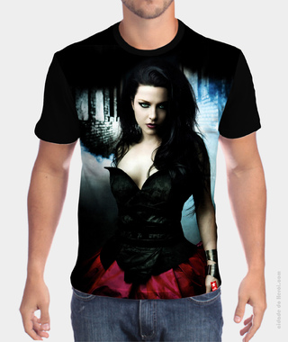 Camiseta Amy Lee -  Evanescence
