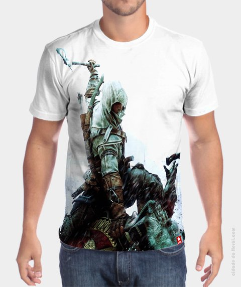 Camiseta Connor Kenway - Assassin's Creed