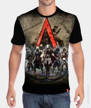 Camiseta Assassinos - Assassin's Creed