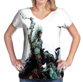 Camiseta Connor Kenway - Assassin's Creed  - comprar online