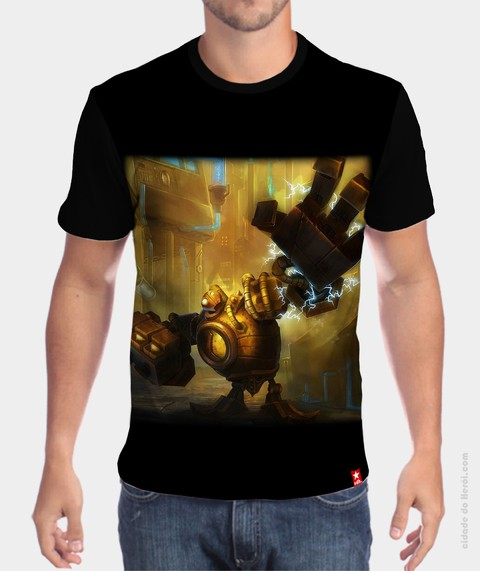 Camiseta League of Legends Blitzcrank