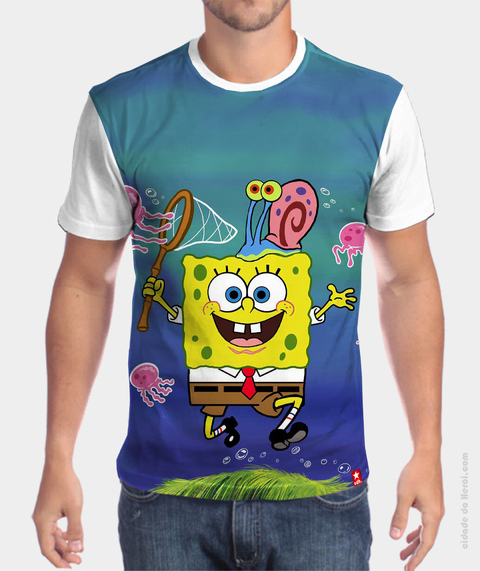 Camiseta Bob Esponja World