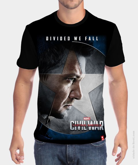 Camiseta Gavião - Guerra Civil