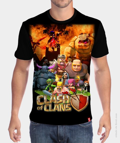 Camiseta Clash of Clans