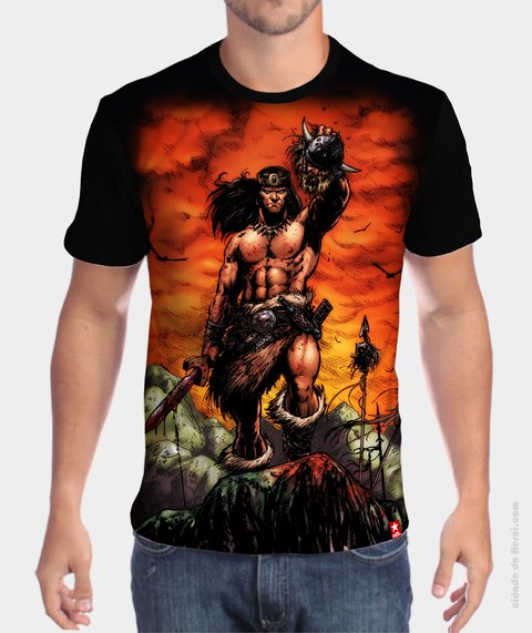 Camiseta HQ - Conan