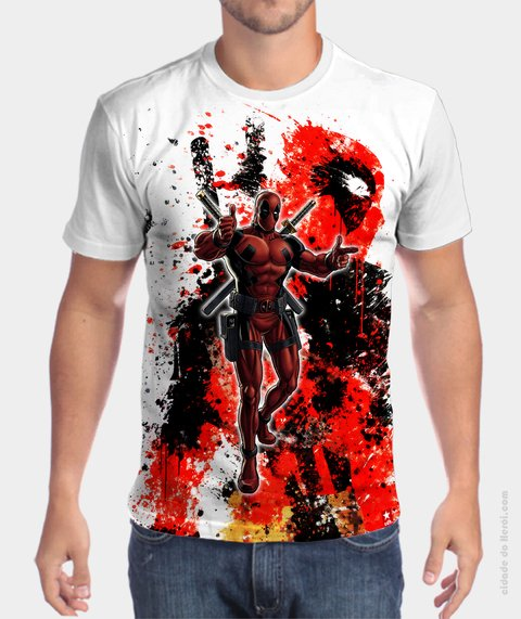 Camiseta The Hero - Deapool