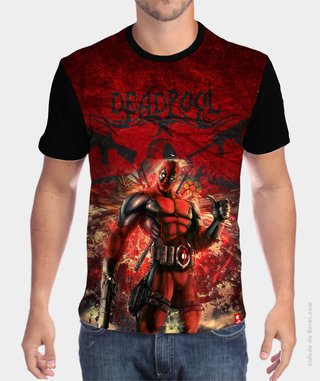 Camiseta F*ck me! - Deadpool