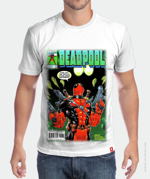 Camiseta Retrô - DeadPool