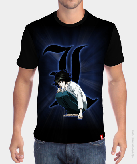 Camiseta L - Death Note
