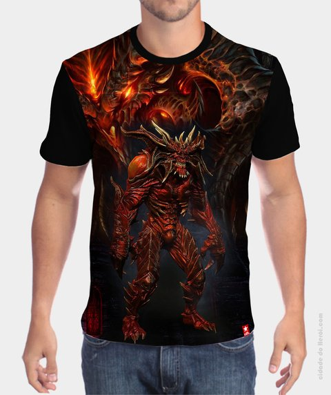 Camiseta Diablo - The Game