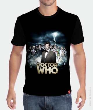 Camiseta Personagens - Doctor Who na internet