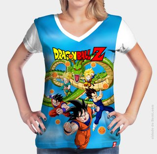 Camiseta Dragão - Dragon Ball - comprar online