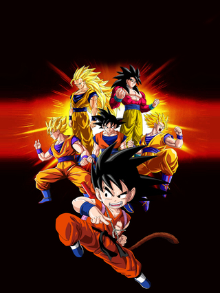 Camiseta Goku - Dragon Ball na internet