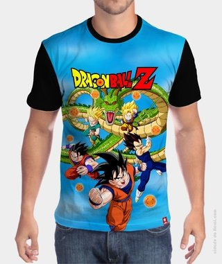Camiseta Dragão - Dragon Ball na internet