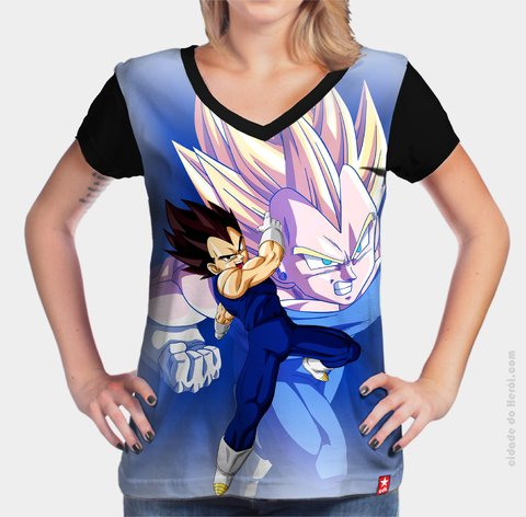 Camiseta Vegeta Dragon Ball