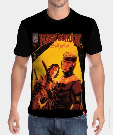 Camiseta Flash Gordon Capa - comprar online