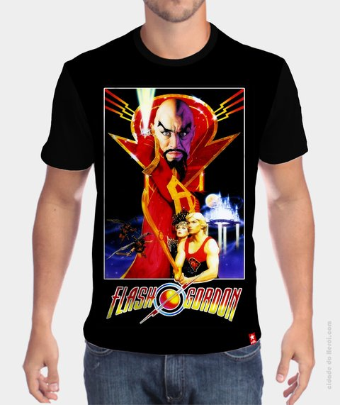 Camiseta Flash  Gordon - comprar online