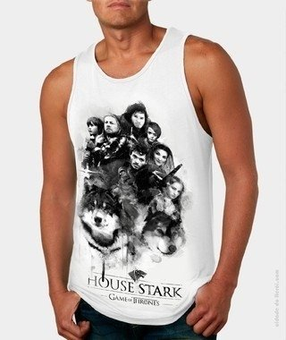Camiseta Game of Thrones  - Casa Stark na internet