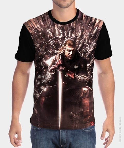 Camiseta Game of Thrones  - Eddard stark