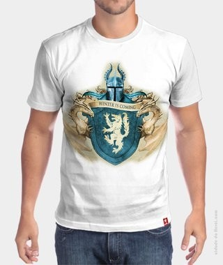 Camiseta Game of Thrones  - The Winter is Coming