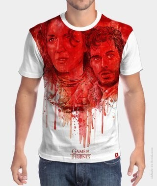 Camiseta Game of Thrones  - Robb and Talisa Stark na internet