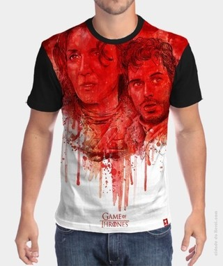 Camiseta Game of Thrones  - Robb and Talisa Stark
