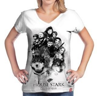 Camiseta Game of Thrones  - Casa Stark - comprar online