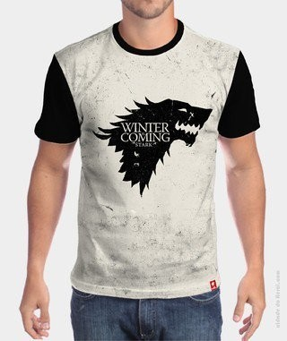 Camiseta Game of Thrones  - The Wolf