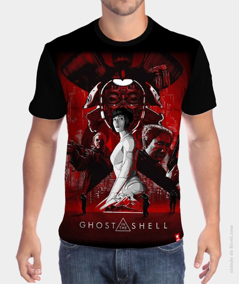 Camiseta Ghost in the Shell - Filme