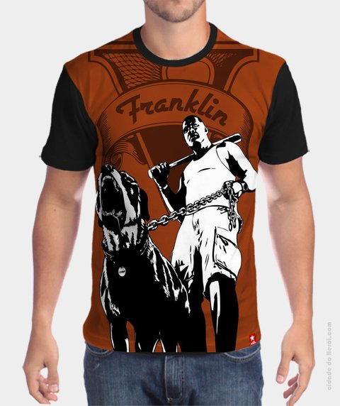 Camiseta GTA5 Franklin