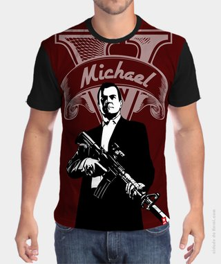 Camiseta GTA5 Michael