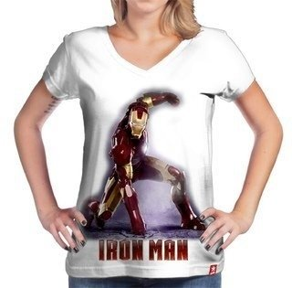 Camiseta homem de ferro - the iron man - marvel - comprar online