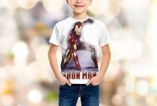 Camiseta homem de ferro - the iron man - marvel na internet